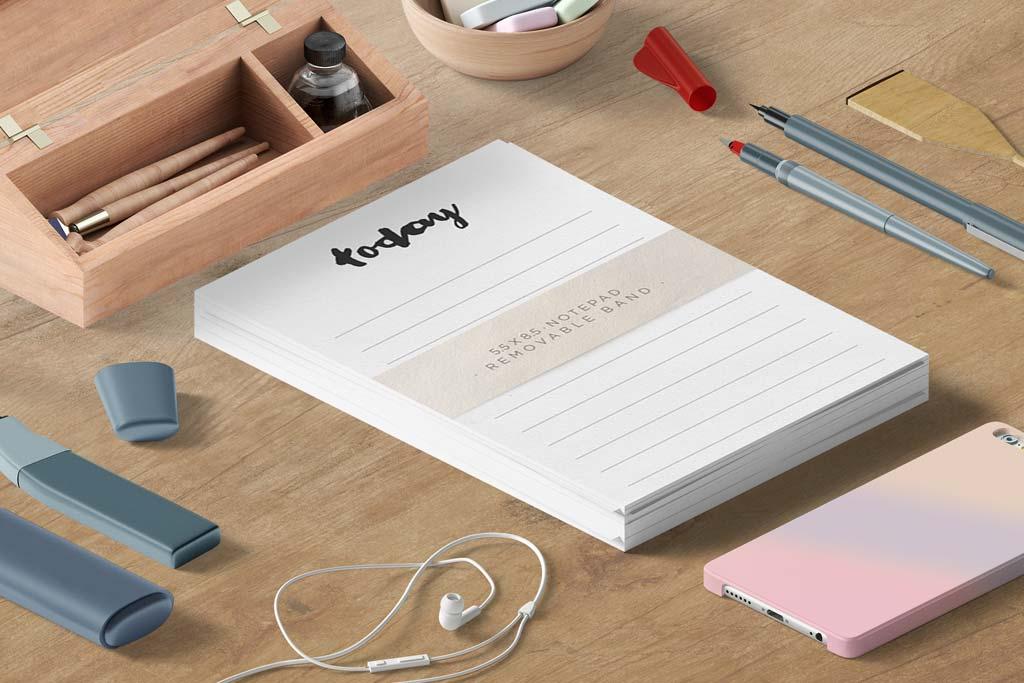 Linen Notepads