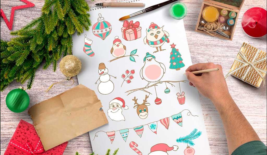 Holidays Season Stickers   Printing New York